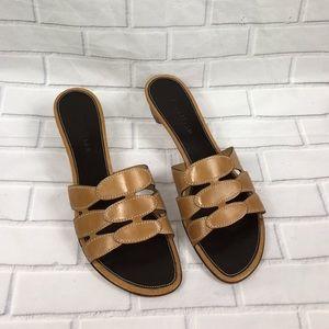 Cole Haan resort Leather Sandals Women's Size 9